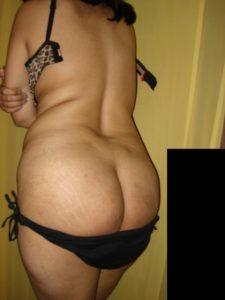 curvy babe nude bum