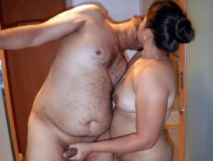 full nude indian couple