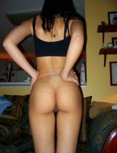 sexy babe nude bum