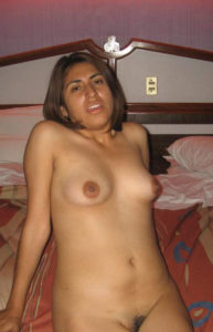 full nude slim indian babe