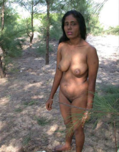 indian babe nude outdoors
