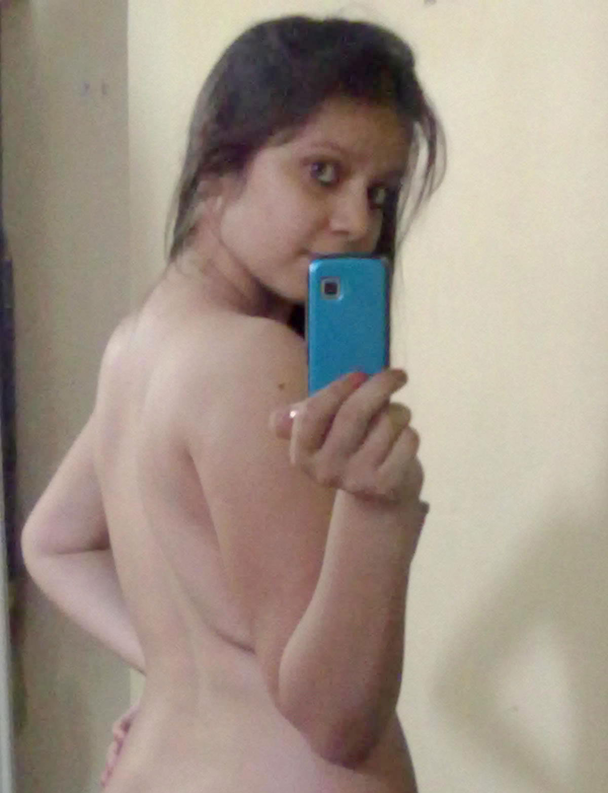 Nude shots Mature mirror