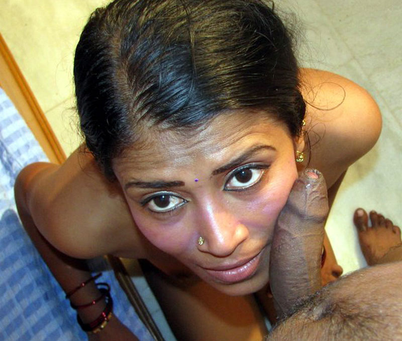 Hot indian babe sucking cock 7