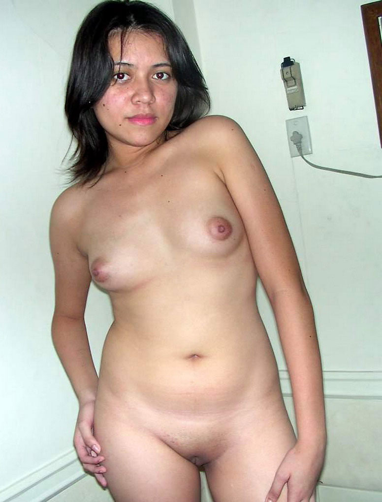 shy cute and nude