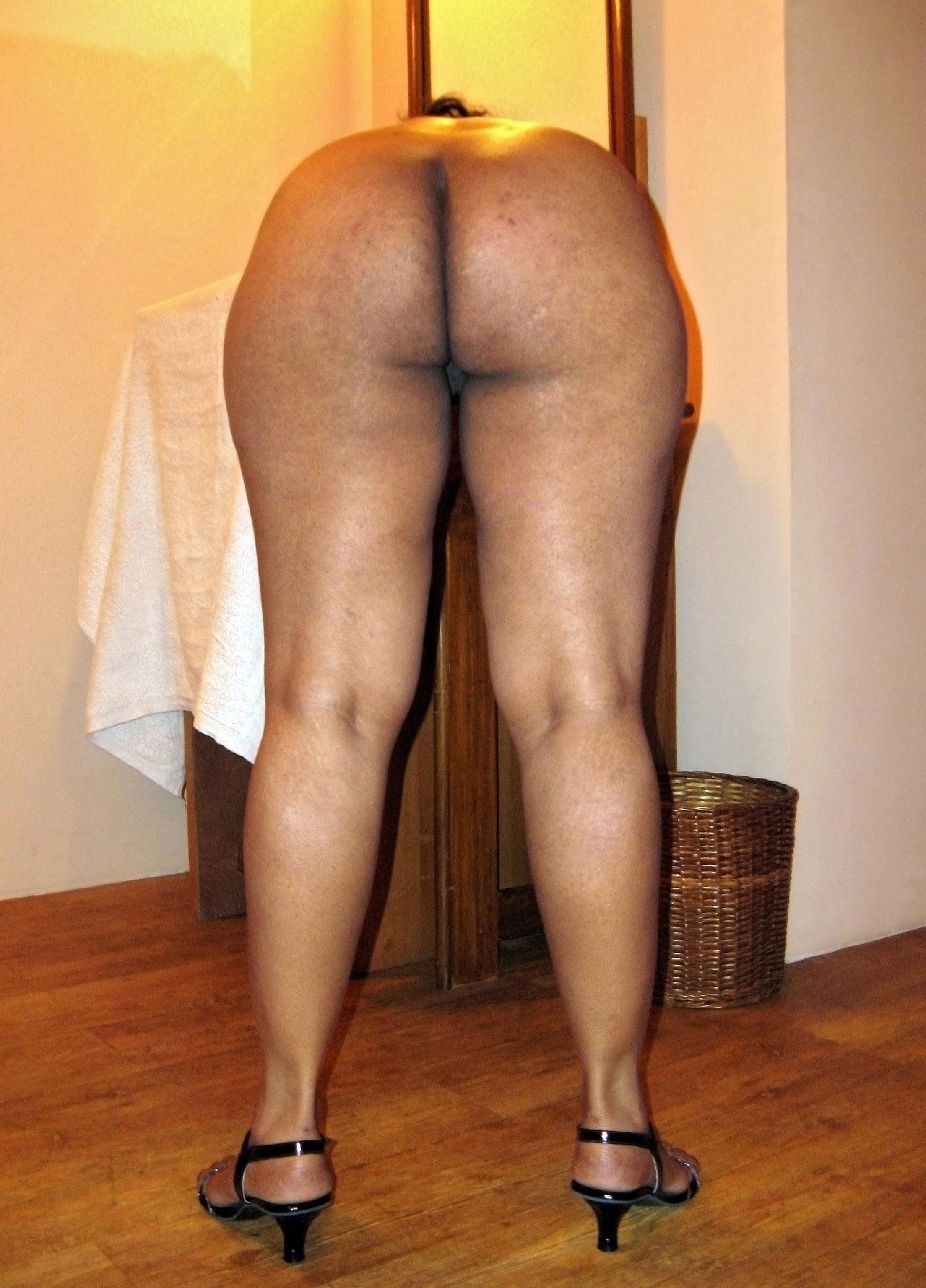 Nude Bum Babe Doggystyle-4791