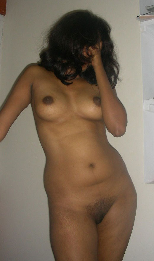 image Beautiful indian shy girl showing cute boobs and honey pussy