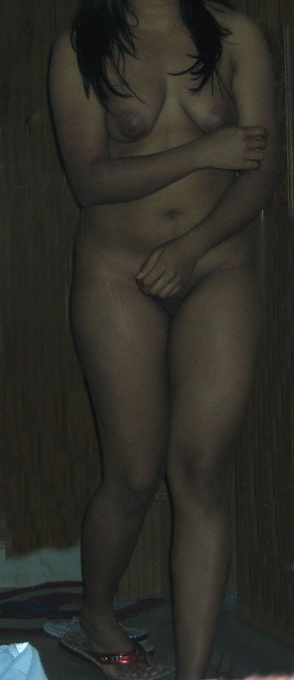 Girl party skinny nude