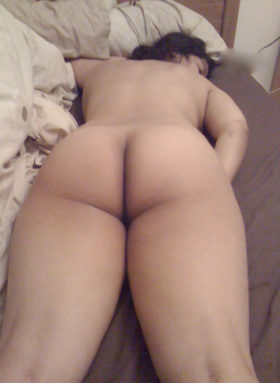 Teen naked with dad