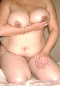 fat nude boobs woman