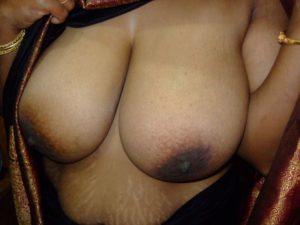 big busty nipples aunty