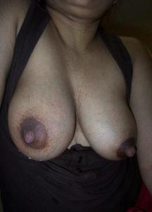 horny aunty titts hard